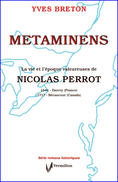 cover page of the book by Yves Breton